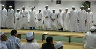 Performance by Darul Uloom Weekend Hifz School